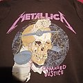 Metallica damaged justice hoodie  Hooded Top