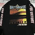 Bolt Thrower - ...For Victory longsleeve size L TShirt or Longsleeve