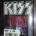 Kiss - Unholy cassette single Tape / Vinyl / CD / Recording etc