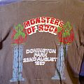 Monsters Of Rock Festival 1987 - Castle Donington TShirt or Longsleeve
