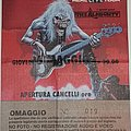 Iron Maiden - Other Collectable - Iron Maiden - Real Live Tour 1993 - Bologna/Italy