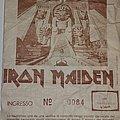 Iron Maiden - World Slavery Tour 1984 - Bologna/Italy