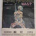 Iron Maiden - Somewhere On Tour  1986 - Florence/Italy