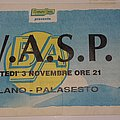 W.A.S.P. - The Crimson Idol Tour 1992 - Sesto S Giovanni/Milan/Italy