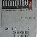 Poison - warm up gig - Marquee/London/England