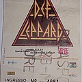 Def Leppard - Hysteria Tour 1988 - Florence/Italy