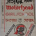 Motörhead - Other Collectable - H.M. Festival 1986 - Bologna/Italy