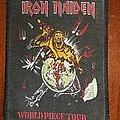 Irona Maiden - Patch - Iron Maiden - World Piece Tour patch