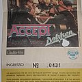Accept - Russian Roulette Tour 1986 - Bologna/Italy