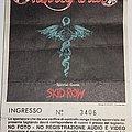 Motley Crue - Dr Feelgood Tour 1989 - Milan/Italy Other Collectable