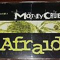 Motley Crue - Afraid - CD Single Tape / Vinyl / CD / Recording etc