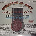 Whitesnake - Other Collectable - Monsters Of Rock 1990 - Castle Donington/UK