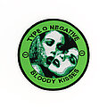 Type O Negative - Patch - Type O Negative - Bloody Kisses woven patch