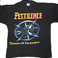 Pestilence - Testimony of the Ancients - Tour Shirt