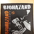 Official Biohazard woven patch