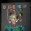 Official Queen 1991 woven patch