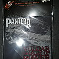 Pantera official woven patch