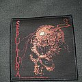 Official Sepultura Beaneath the remains woven patch