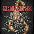 Official 1989 Scorpions woven patch
