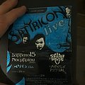 Old Satyricon  greek flyer  Other Collectable