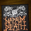 Official Napalm Death woven patch