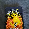 Metallica - Patch - 80's Metallica jump in the fire bootleg patch