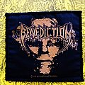 Benediction original woven 1995 patch