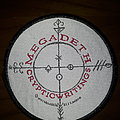 Official Megadeth woven patch