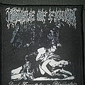 Org Cradle of Filth woven patch