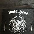 Org 1994 Motorhead woven patch