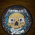 Official Metallica woven patch