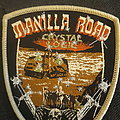 Manilla Road shield shaped patch