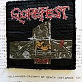 Gorefest original 1993 woven patch