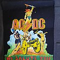 Bootleg Acdc backpatch