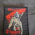 Grave Digger - Patch - Official 1993 Grave Digger woven patch