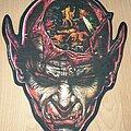 Kreator - Patch - Kreator - Coma Of Souls Backpatch/Shape 1991