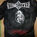 Bolt Thrower - Battle Jacket - in battle there is .. an updated jacket