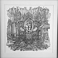"""Ghost - Other Collectable - Ghost - """"He is"""" - Meliora artwork - Serigraph (Strictly Limited)"""
