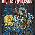 Iron Maiden - Patch - Iron Maiden - Live after Death - Back Patch 1985 (Blue Version - Bottom...