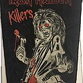 Iron Maiden - Killers - vintage 80's back patch