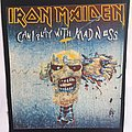 Iron Maiden - Patch - Iron Maiden - Can I Play with Madness - Vintage Back Patch ~1989