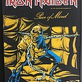 Iron Maiden - Patch - Iron Maiden - Piece of Mind - Back Patch 1983 (for you!)
