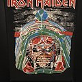 Iron Maiden - Patch - Iron Maiden - Aces High - Back Patch 1984 (Green Version)