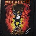 Megadeth - Explosion - Vintage Patch 1990