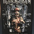 Iron Maiden - Patch - Iron Maiden - X-factor - Back Patch 1995 (version 1)