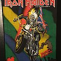 Iron Maiden - Maiden England - Vintage Back Patch 1989
