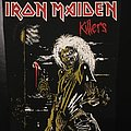 Iron Maiden - Patch - Iron Maiden - Killers - Back Patch 1981 (Version 5 - Foggy Light nr.3)