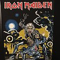 Iron Maiden - Patch - Iron Maiden - No Prayer on the Road/Hooks in You - non-licensed Back Patch (on...