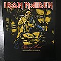 Iron Maiden - Patch - Iron Maiden - Piece of Mind - Back Patch 1983 (Version 1 - Ocher)