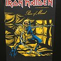 Iron Maiden - Piece of Mind - Back Patch 1983